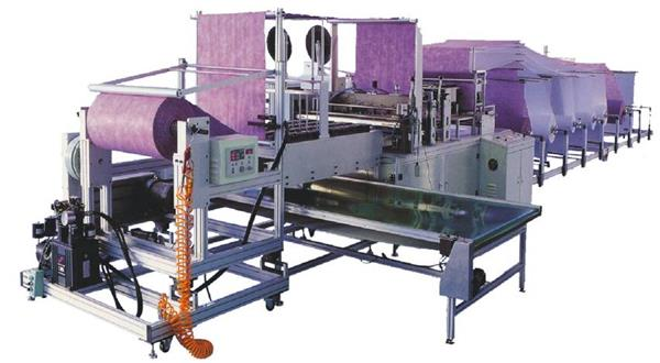 HY300-06 Pocket Filter Making Machine
