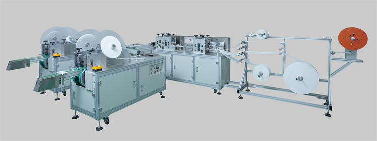 HY100-10 Fully Automatic Tie-on Surgical Mask Making Machine