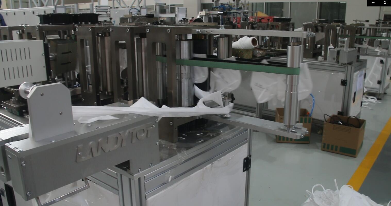 Customized N95 MASK PRODUCTION LINE Finished And Delivery To Italy